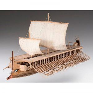 Greek Trireme Ship Model Kit - Dusek (D004)