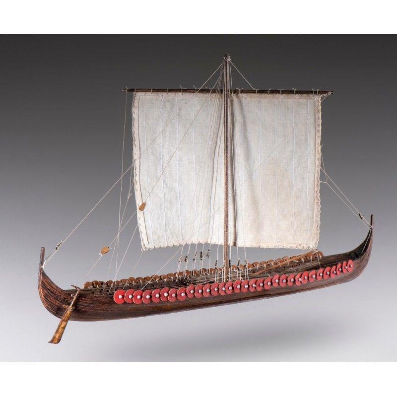 Viking Longship Model Boat Kit Scale 1 to 72 - Dusek (D014)