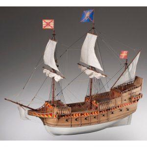1896-11391-San-Martin-Model-Ship-Kit-Dusek-D018