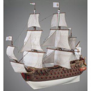 1898-11407-Nuestra-Senora-Model-Boat-Kit-Dusek-D022