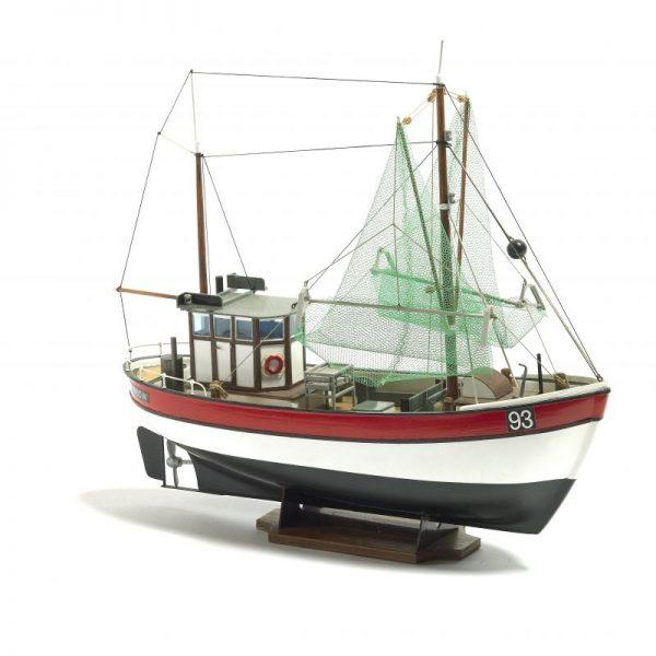Rainbow Fishing Cutter Model Ship Kit - Billing Boats (B201)