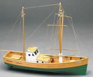 Amalfi. Mediterranean Fishing Boat Kit - Mantua Models (702)