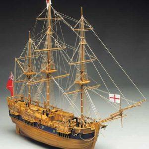 1937-11468-HM-Bark-Endeavour-Model-Ship-Kit-Mantua-Models-774