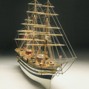 1939-13787-Amerigo-Vespucci-184-Scale-Boat-Kit-Panart-741