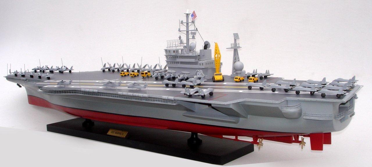 1944-12491-Aircraft-Carrier-Uss-America-CV-66-ship-model
