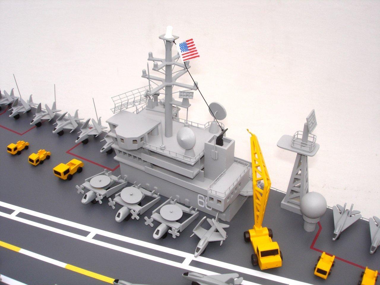 1944-12496-Aircraft-Carrier-Uss-America-CV-66-ship-model