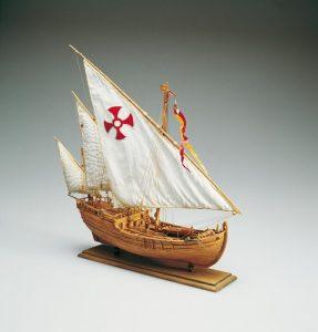 1969-11626-Nina-Caravel-Ship-Model-Kit-Amati-1411