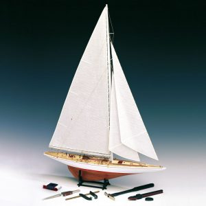Rainbow Yacht Scale 1:80 Model Boat Kit - Amati (1700/11)