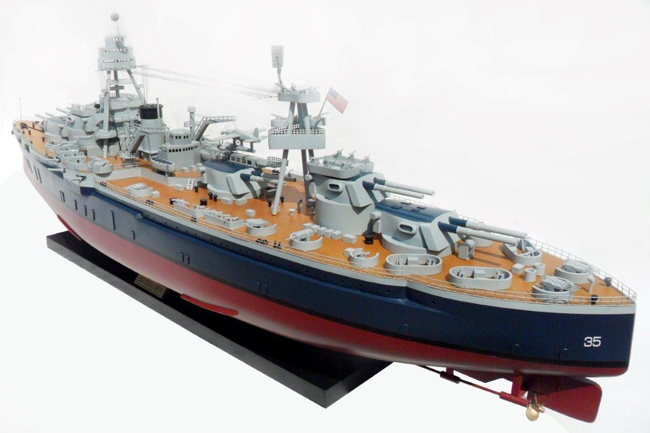 USS Texas Model Ship - GN (BT0033P-100)