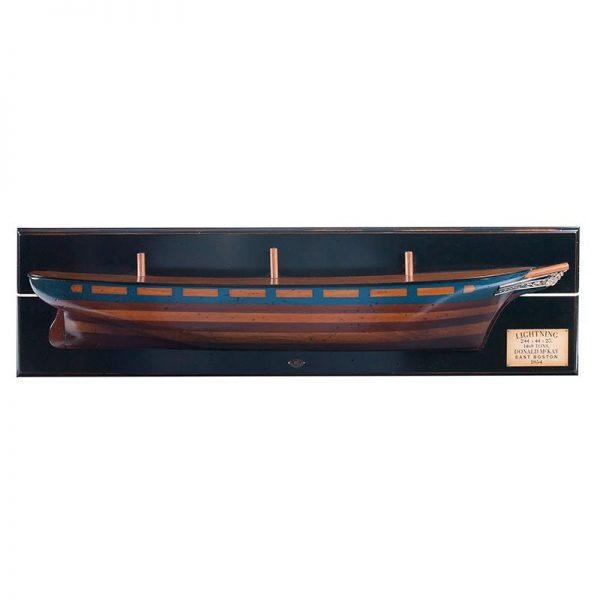 2037-12044-Lightning-Clipper-Half-Model-Ship-Authentic-Models-AS190