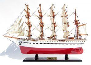 2045-12078-France-II-Wooden-Model-Ship