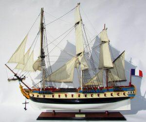 2071-12254-La-Fayette-Hermione-Wooden-Model-Ship