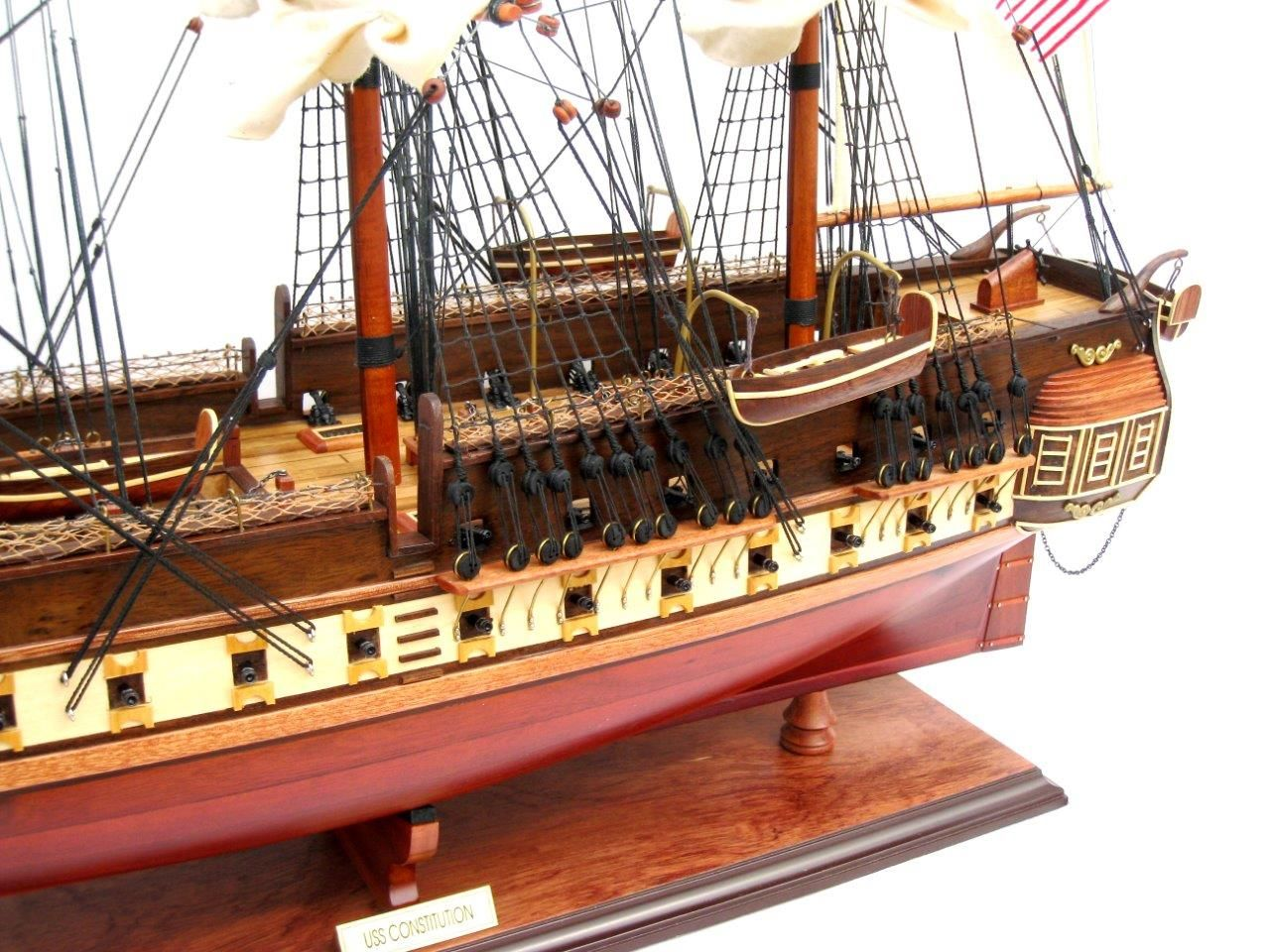 2095-12442-USS-Constitution-Wooden-Model-Ship