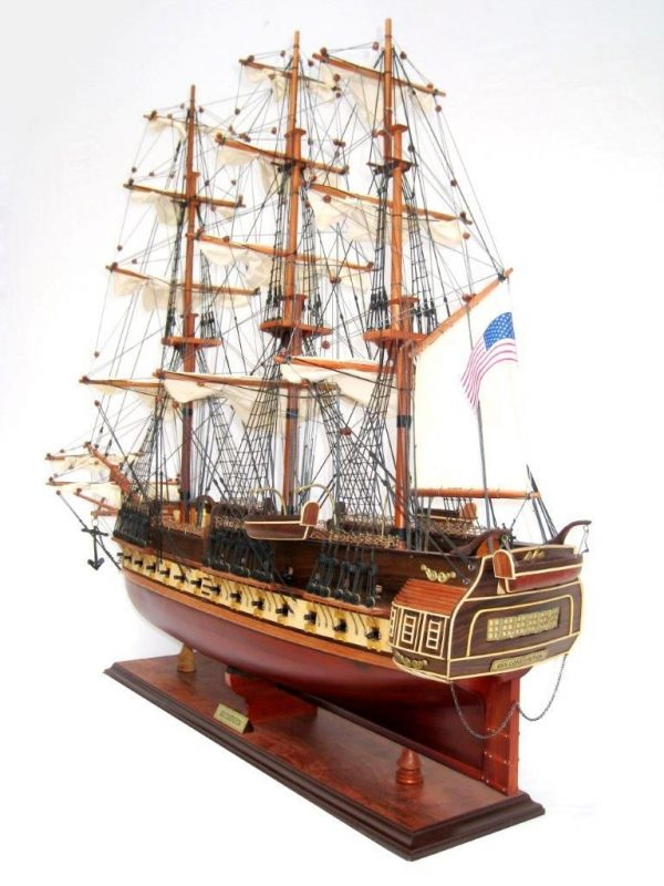 2095-12446-USS-Constitution-Wooden-Model-Ship