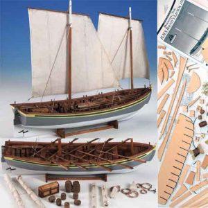 HMS Bounty Launch Model Ship Kit - Model Shipways (MS1850)