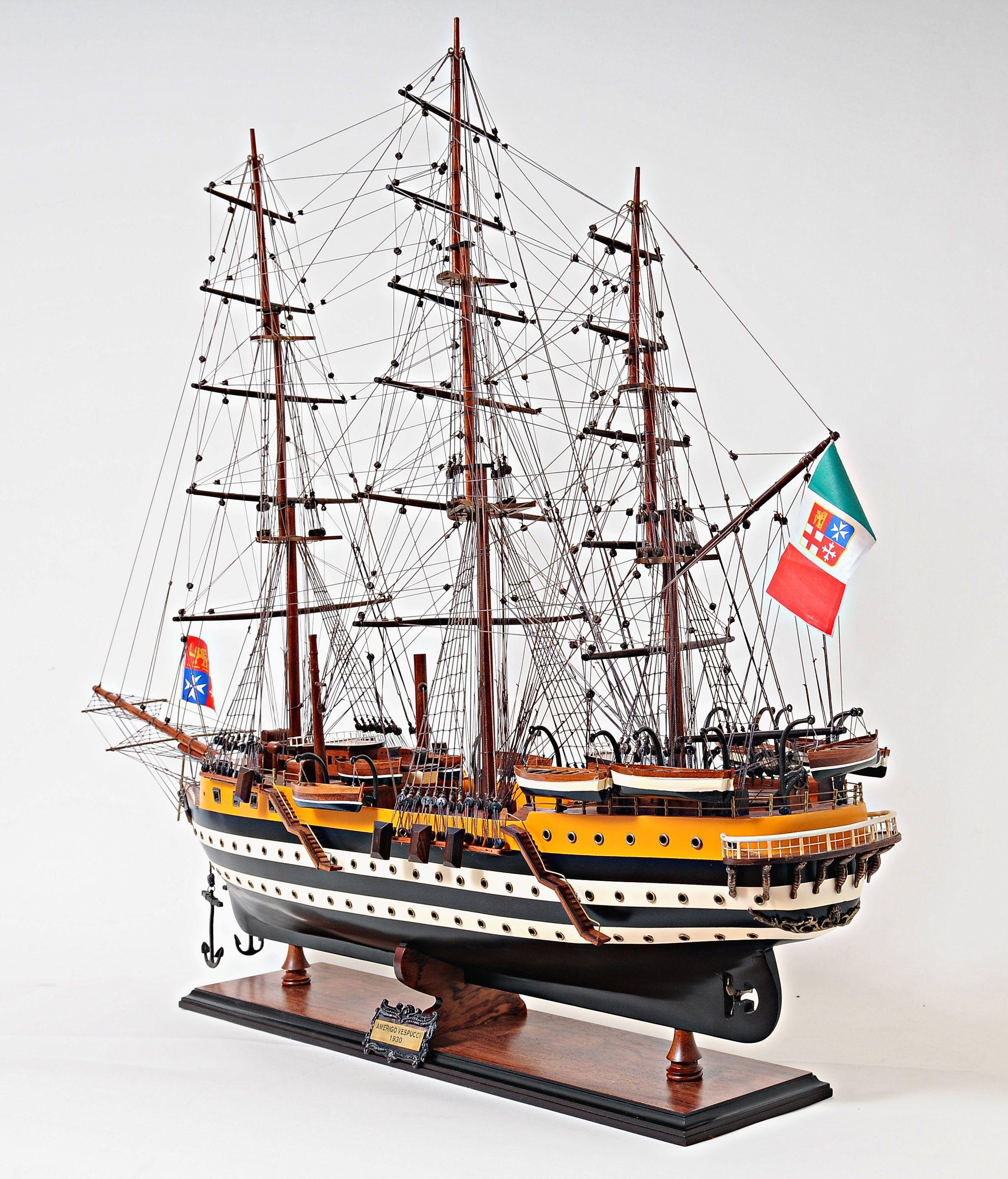 2265-13022-Amerigo-Vespucci-Model-Boat