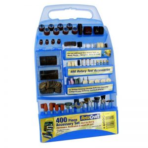 Rotacraft 400 Piece Accessory Set & Case (RC 9400)