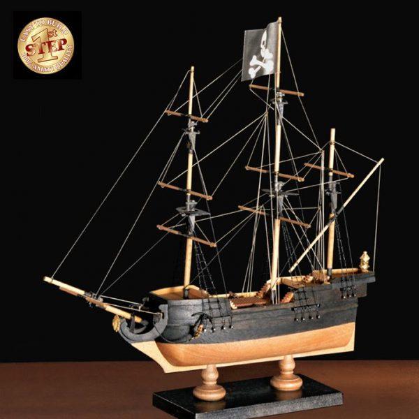 2507-14262-Pirate-Ship-Model-Boat-Kit-60001