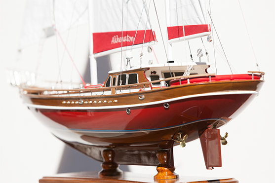 Akhenaton Wooden Model Ship (Superior Range) - HM