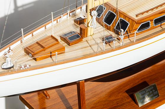 White Dolphin YCF Bastia Model Yacht (Superior Range) - HM