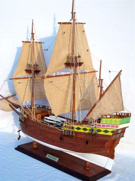 277-4443-Mayflower-Model-Ship-Standard-Range