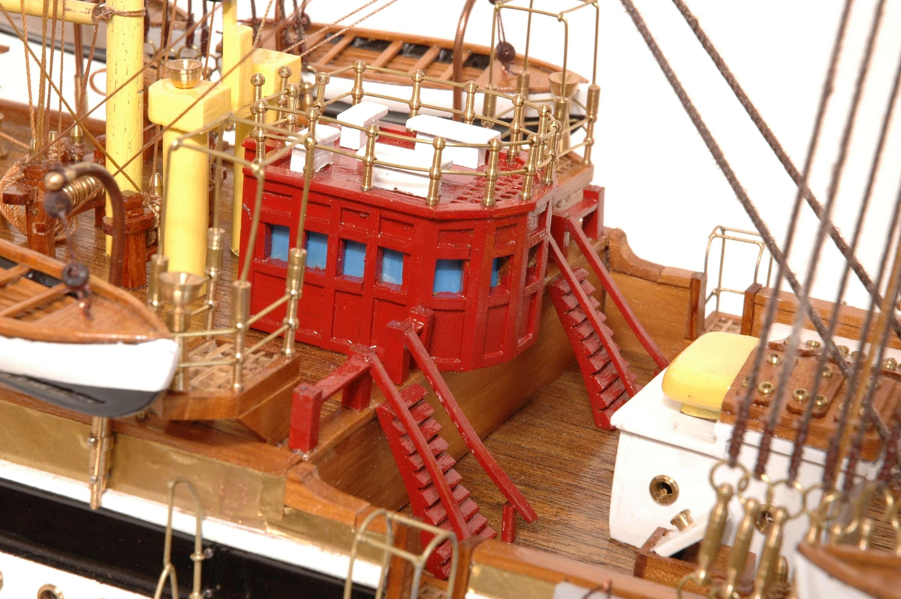 498-4216-Amerigo-Vespucci-Model-Ship-Superior-Range