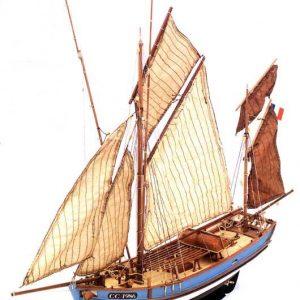 631-7955-Marie-Jeanne-Model-Boat-Kit