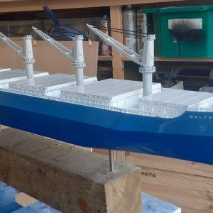 Baltnav Bulk Carrier Model Ship