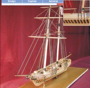 Jefferson Davis Model Boat Kit - BlueJacket (K1051)