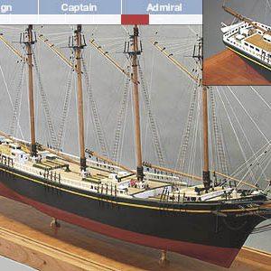 Charles P. Notman Model Boat Kit - BlueJacket (K1894)