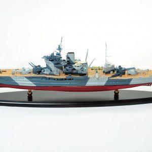 HMS Warspite Model Ship